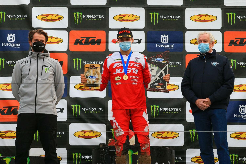 Andrea Bonacorsi, dei Pata Talenti Azzurri FMI, è Campione Europeo Motocross 125cc