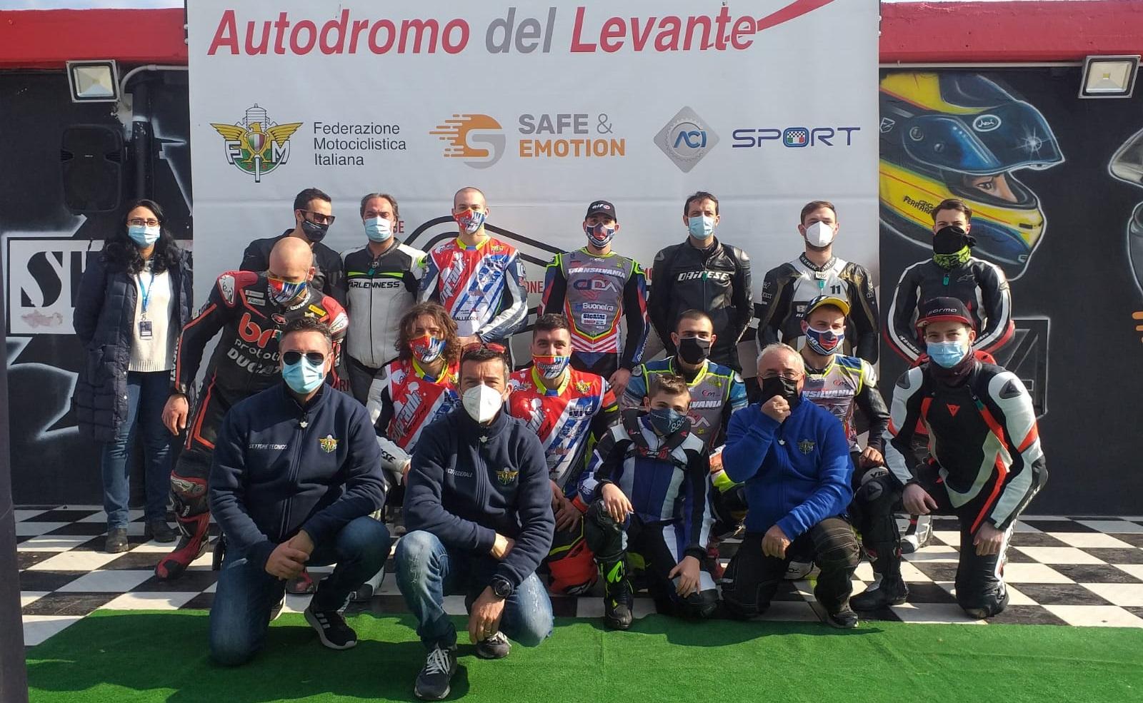 Grande partecipazione a Binetto per il CTP Supermoto thumbnail