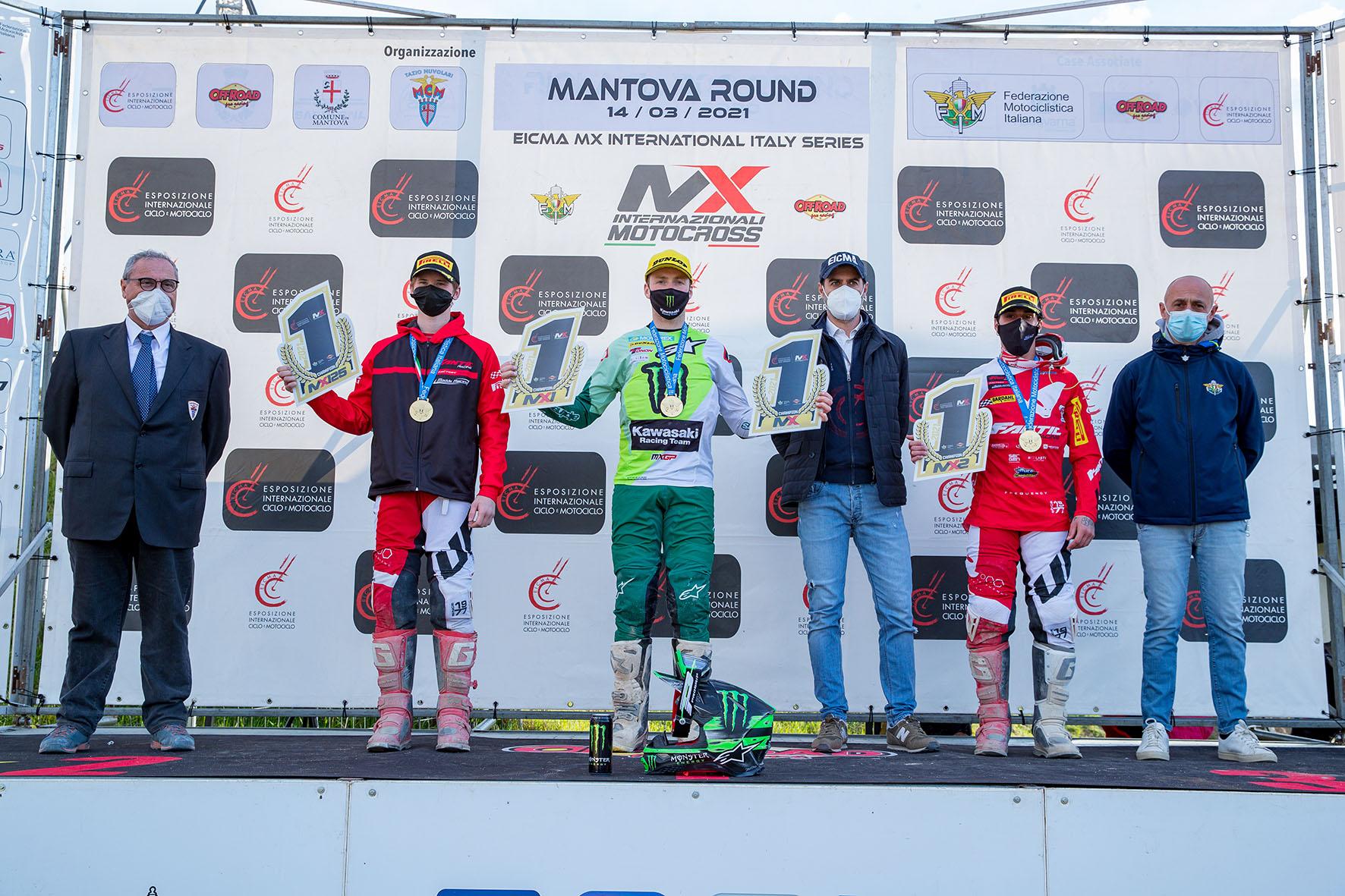 Febvre, Lapucci e Osterhagen vincono gli Internazionali d'Italia Motocross 2021 thumbnail