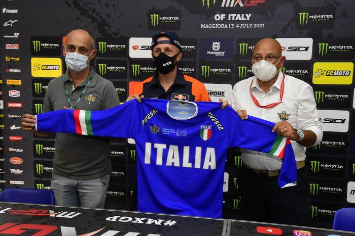 La Maglia Azzurra al GP d'Italia del Mondiale Cross! thumbnail