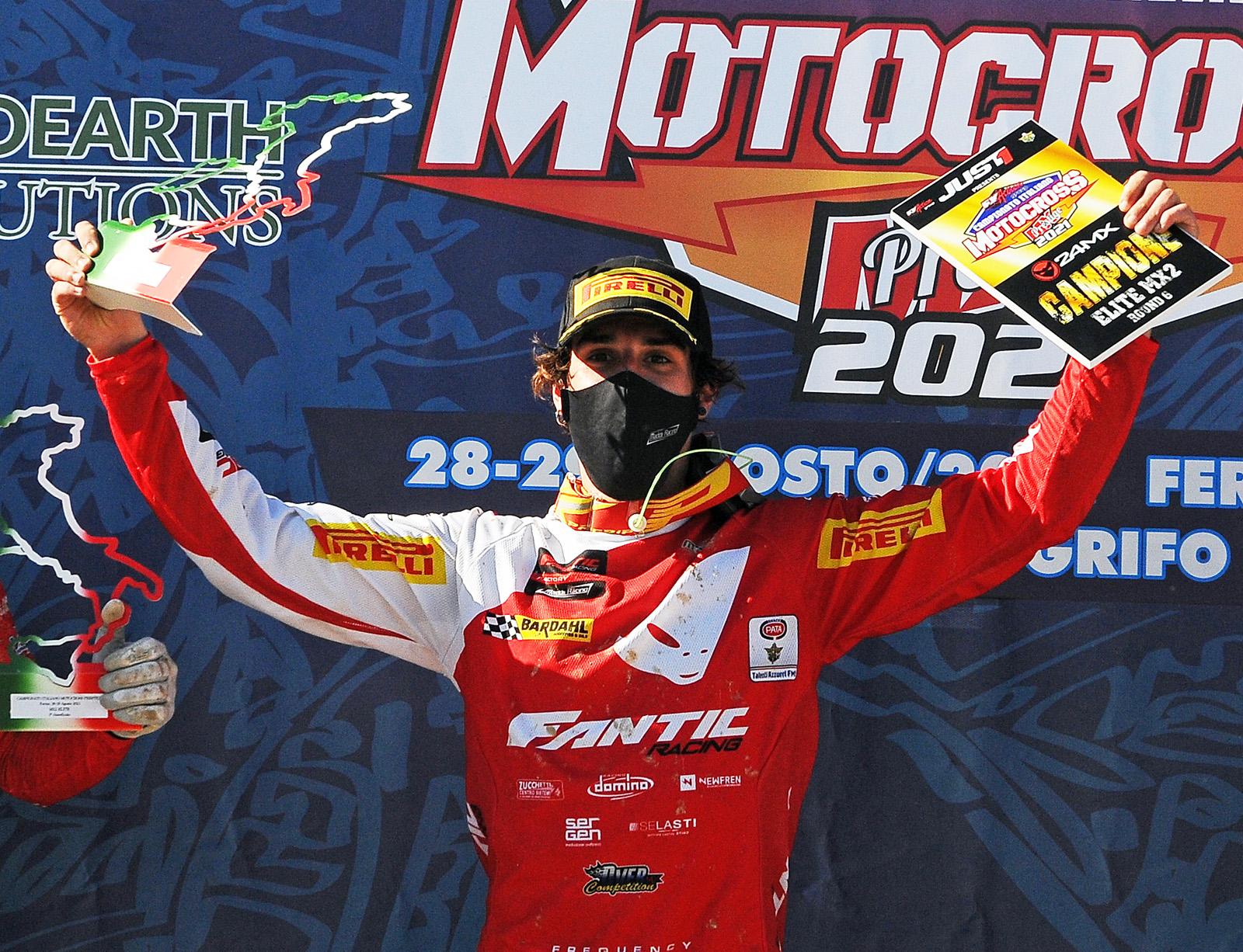 Nicholas Lapucci campione italiano MX2 thumbnail